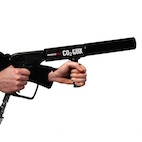 Co2 gun, jet, cilinder, special effects huren